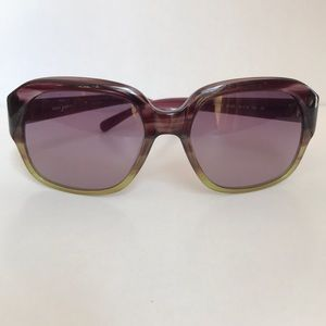 Purple/green Tory Burch sunglasses